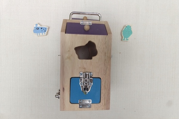 Sustainable Toys Wooden Lockbox