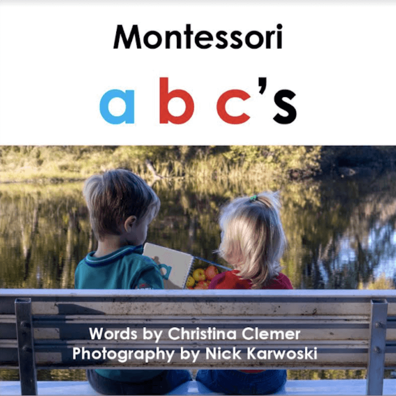 Montessori Alphabet Book
