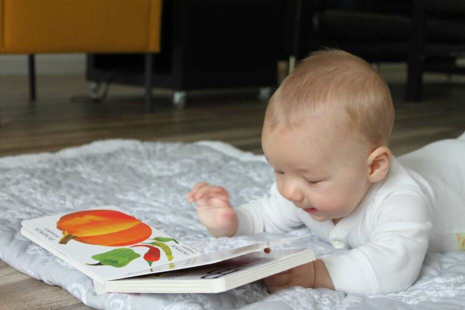 Montessori Baby Books About Food