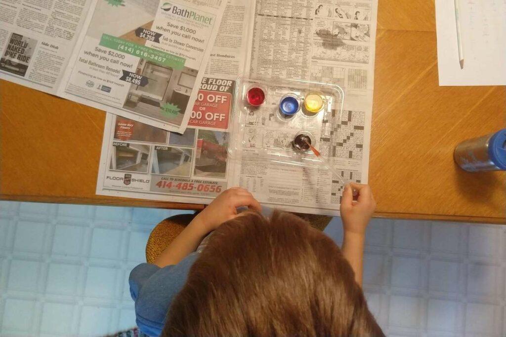 Montessori Color Mixing