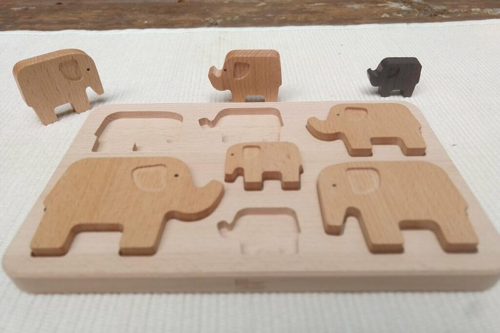 Montessori Wooden Puzzle